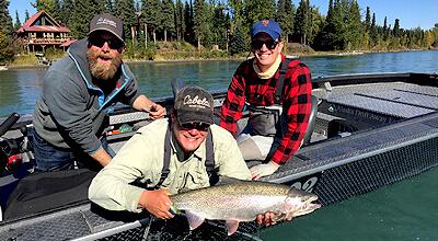 Guided Alaska Fishing Trips for Rainbow Trout & Salmon | Drift Away